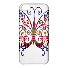 Butterfly Nature Abstract Beautiful Apple Iphone 5c Hardshell Case