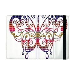 Butterfly Nature Abstract Beautiful Ipad Mini 2 Flip Cases by Nexatart