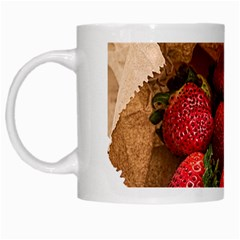 Strawberries Fruit Food Delicious White Mugs by Nexatart