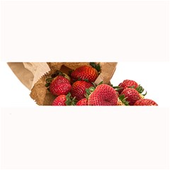 Strawberries Fruit Food Delicious Large Bar Mats by Nexatart