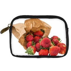 Strawberries Fruit Food Delicious Digital Camera Cases by Nexatart