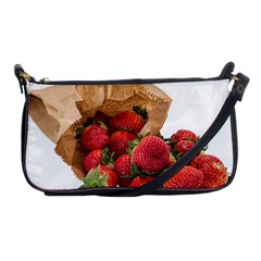 Strawberries Fruit Food Delicious Shoulder Clutch Bags by Nexatart