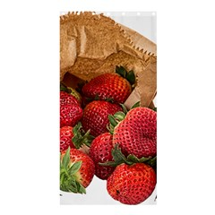 Strawberries Fruit Food Delicious Shower Curtain 36  X 72  (stall)  by Nexatart