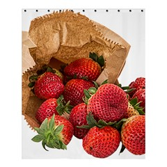 Strawberries Fruit Food Delicious Shower Curtain 60  X 72  (medium)  by Nexatart