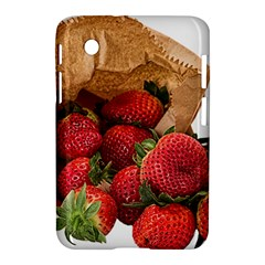 Strawberries Fruit Food Delicious Samsung Galaxy Tab 2 (7 ) P3100 Hardshell Case