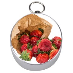 Strawberries Fruit Food Delicious Silver Compasses by Nexatart