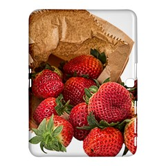 Strawberries Fruit Food Delicious Samsung Galaxy Tab 4 (10 1 ) Hardshell Case