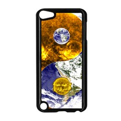 Design Yin Yang Balance Sun Earth Apple Ipod Touch 5 Case (black) by Nexatart