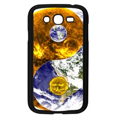 Design Yin Yang Balance Sun Earth Samsung Galaxy Grand Duos I9082 Case (black) by Nexatart