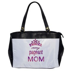 Crazy Pageant Mom Office Handbags by Valentinaart