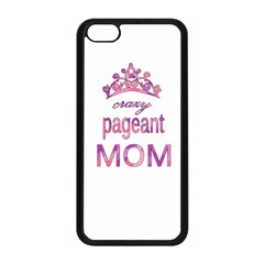 Crazy Pageant Mom Apple Iphone 5c Seamless Case (black)