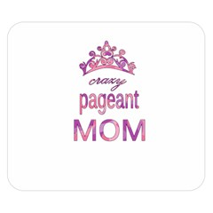 Crazy Pageant Mom Double Sided Flano Blanket (small)