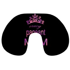 Crazy Pageant Mom Travel Neck Pillows by Valentinaart