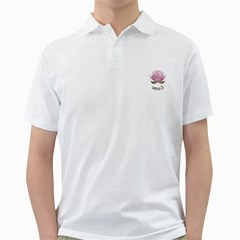 Namaste   Lotus Golf Shirts