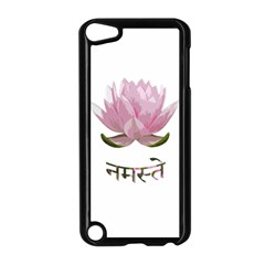 Namaste   Lotus Apple Ipod Touch 5 Case (black)