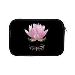Namaste   Lotus Apple Ipad Mini Zipper Cases