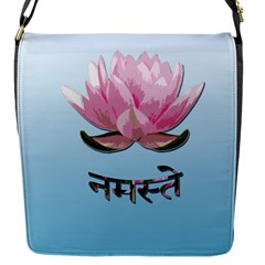 Namaste   Lotus Flap Messenger Bag (s)