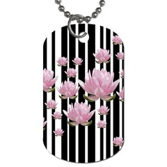 Namaste   Lotus Dog Tag (two Sides) by Valentinaart