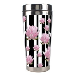 Namaste   Lotus Stainless Steel Travel Tumblers by Valentinaart