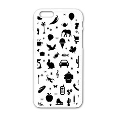 Rebus Apple Iphone 6/6s White Enamel Case