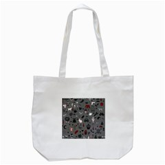 Rebus Tote Bag (white) by Valentinaart