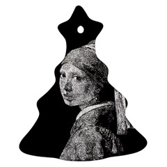 The Girl With The Pearl Earring Ornament (christmas Tree)  by Valentinaart