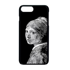 The Girl With The Pearl Earring Apple Iphone 7 Plus Seamless Case (black) by Valentinaart