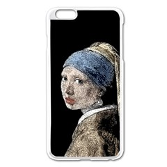 The Girl With The Pearl Earring Apple Iphone 6 Plus/6s Plus Enamel White Case