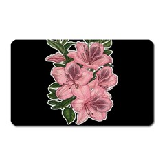 Orchid Magnet (rectangular) by Valentinaart
