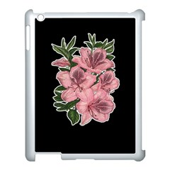 Orchid Apple Ipad 3/4 Case (white)