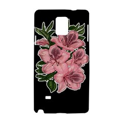 Orchid Samsung Galaxy Note 4 Hardshell Case by Valentinaart