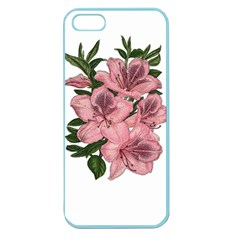 Orchid Apple Seamless Iphone 5 Case (color) by Valentinaart