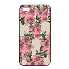 Orchid Apple Iphone 4/4s Seamless Case (black) by Valentinaart