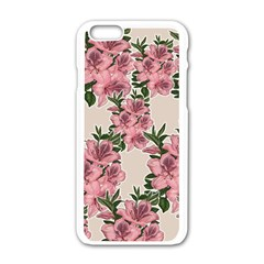 Orchid Apple Iphone 6/6s White Enamel Case by Valentinaart