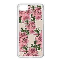 Orchid Apple Iphone 7 Seamless Case (white) by Valentinaart