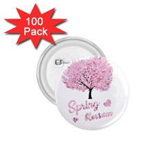 Spring Blossom  1 75  Buttons (100 Pack)  by Valentinaart