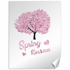 Spring Blossom  Canvas 18  X 24   by Valentinaart