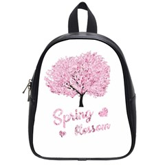 Spring Blossom  School Bags (small)  by Valentinaart