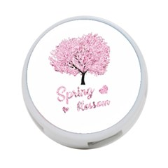 Spring Blossom  4 Port Usb Hub (two Sides)  by Valentinaart