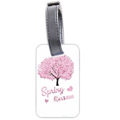 Spring Blossom  Luggage Tags (one Side)  by Valentinaart