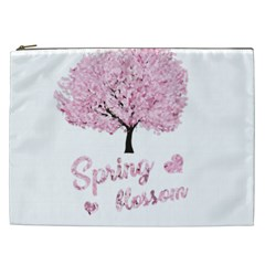 Spring Blossom  Cosmetic Bag (xxl)  by Valentinaart