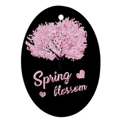 Spring Blossom  Ornament (oval) by Valentinaart