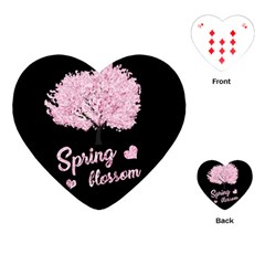 Spring Blossom  Playing Cards (heart)  by Valentinaart