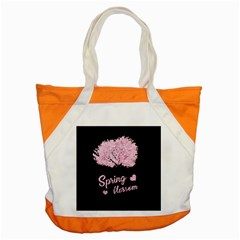 Spring Blossom  Accent Tote Bag by Valentinaart