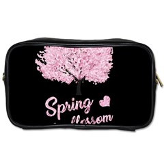 Spring Blossom  Toiletries Bags 2 Side by Valentinaart