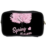 Spring blossom  Toiletries Bags 2-Side Front