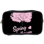 Spring blossom  Toiletries Bags 2-Side Back
