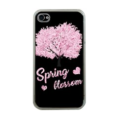 Spring Blossom  Apple Iphone 4 Case (clear) by Valentinaart