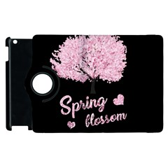 Spring Blossom  Apple Ipad 3/4 Flip 360 Case