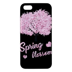 Spring Blossom  Apple Iphone 5 Premium Hardshell Case by Valentinaart